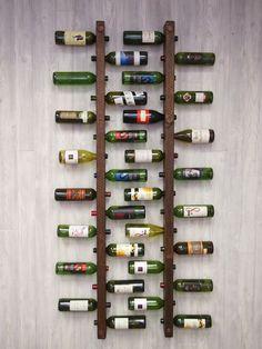 Cuando uno comienza a coleccionar vinos o simplemente dejarlos para ocasiones especiales, de a poco los vamos acomodando donde podemos, hasta que llega un momento que no sabemos cómo organizarlos p…