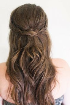 Boho hair is the perfect combination of casual and flawless