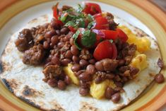 One Bag of Beans, Three Meals (Balsamic Pork Chops, Chorizo Dinner Tacos & Breakfast Tacos) - Amateur Gourmet
