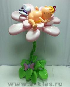 Baby Balloon, Balloon Gift, Balloon Wall, Baby Shower Balloons, Ballon Decorations, Balloon Centerpieces, Flower Decorations, Balloon Flowers, Balloon Bouquet
