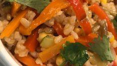 Cazuelita Thai de verduras: Con leche de coco y curry!