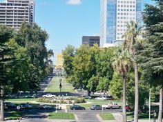 Capitol Mall in Sacramento