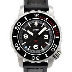 Fine German-made professional diving watch - Dievas Aqualuna