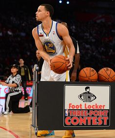 Stephen Curry - Foot Locker Three-Point Shootout 2013