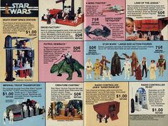Old Star Wars toys ad
