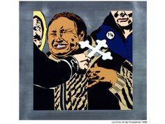 La croix et sa puissance. 1996. Nicogermain Stencil Graffiti, Fallout Vault, Stencils, Artworks, Street Art, Fictional Characters, Crosses, Art Pieces, Templates