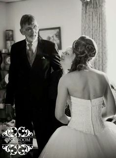 First look with parents wedding photography