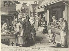 Brillenwinkel, Jan Collaert (II), Philips Galle, ca. 1598 - ca. 1593