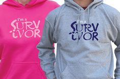 Cancer Survivor Hooded Sweatshirt