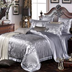 Luxury Silk Bedding Set Darlene,naturally #hypoallergenic, breathable and smooth. @lilysilk