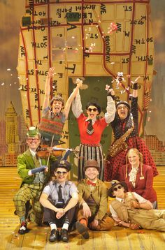 The Birmingham Stage Company proudly presents Roald Dahl's amazing story James and the Giant Peach. This wonderful production, full of fruit-filled fun and whizzpopping wonders, runs at the Wyvern Theatre, Swindon, from Tue 26 to Sat 30 March http://wyverntheatre.org.uk