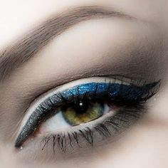 Blue Ombré by Lindsay L. Click the pic to see the products she used. #eyemakeup #cateye #YouCanDoThisBeauty @Laura Geller Beauty