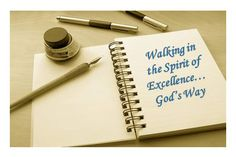 Oh diary: Spirt of Excellence