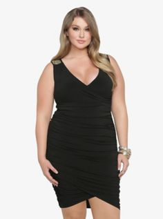 Beaded & Ruched BodyCon Dress SKU : 10225848 ONLINE EXCLUSIVE  $68.50