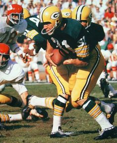 Jim Taylor Green Packers 1958-66 and New Orleans Saints 1967. HOF Class '76.