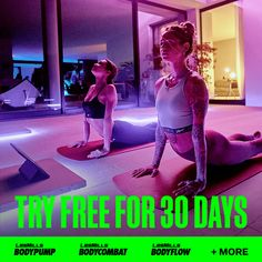 SPECIAL OFFER: 30-DAY FREE TRIAL. The Ultimate Fitness App...World's greatest fitness classes taught in 21,000 gyms worldwide, including iconic programs BODYPUMP and BODYCOMBAT - now available at home. Try LES MILLS On Demand now! 12 Week Workout, Workout Schedule, Workout Challenge, Fitness App, Fitness Classes, Standing Yoga Poses, How To Start Exercising, Workout Plan For Women, Weight Loss Workout Plan