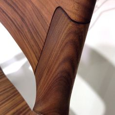 Beauty in #wood #detail #furnituredesign #furniture #design #designweek #milandesignweek #milanogram2016
