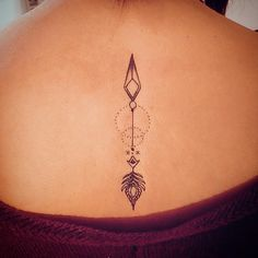 Arrow tattoo from arrow collection no'3
