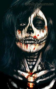 15-Skeleton-Halloween-Makeup-Ideas-Looks-Trends-2015-1