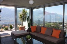 Magnifique Appartement Villa 300m2 proche de Sion 5393927 Outdoor Sectional, Sectional Sofa, Outdoor Furniture, Outdoor Decor, Villa, Windows, Home Decor, Apartments, Real Estate