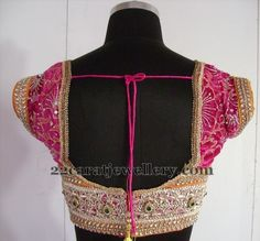 Cut Work Lace Blouse Designs