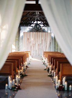 AMAZING ceremony decor!!! Image by Steve Steinhardt Fine Art Photography via Elizabeth Anne Designs