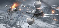 Oblivion, Concept Art + VFX Art Direction by James Clyne-Giant Frog Studios