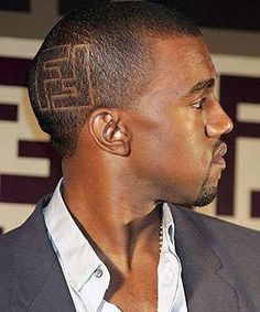 kanye west hair style