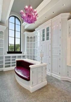 What girl wouldn't want this closet!
