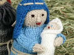 The first of our special Christmas Nativity KAL is here and it is Mary and baby Jesus! Like The Knitting Network Facebook Page here. For £31.99 you'll get 33 s