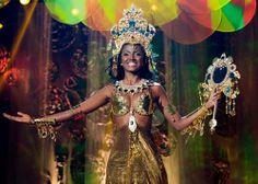 Third Place Runner-up for Miss Brazil 2013,Priscila Cidreira
