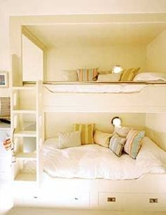 Queen Size BunksQueen Size Bunks great for guests (adults) and/or children to have room to play with small toys on bed