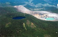Fotografía: Destinos Reps - Volcán Poas -  Vista aérea (Costa Rica)