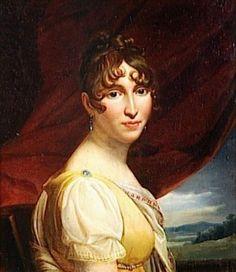 Hortense Eugènie Cécile de Beauharnais, daughter of the Empress Joséphine and the Vicomte Alexandre de Beauharnais, step daughter of the Emperor Napoléon, wife of his brother Louis Bonaparte and mother of Napoléon III.
