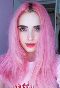New nails colors pasteles pink hair ideas Pastel Lips, Pastel Pink Hair, Pastel Colors, Cute Hair Colors, Hair Dye Colors, Pinterest Hair, Coloured Hair, Hair Color Dark, Dye My Hair