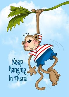 Send a Monkeys Encouragement Card with your own Handwriting. Quality cards made in the USA. Designed by Annie Things Possible. Thinking Of You Quotes, Thinking Of You Today, Morning Greetings Quotes, Good Morning Quotes, Morning Memes, Amazing Inspirational Quotes, Get Well Wishes, Love You Images, Card Sentiments