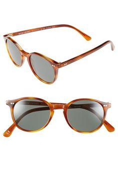 Dom Vetro 'Capretta' 47mm Polarized Sunglasses available at #Nordstrom
