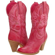 Pink cowboy boots? Yes please!