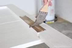 If you love HGTV's Fixer Upper, you'll love learning how to distress new wood into Joanna Gaines signature style. Easy to do at home!