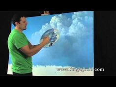 Painting tips and tricks tutorial.  3 Tips On Painting Great Clouds in Oil or Acrylic by Tim Gagnon.