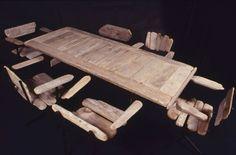 Driftwood furniture (Sooooo dope, note to self: learn to weld.)