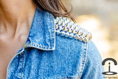Crimenes de la Moda: DIY: Spiked jacket