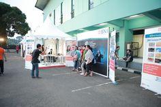 Aktifitas di area luar Konser Cinta Musik Indonesia, Tennis Indoor Senayan, 4 Mei 2013