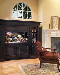Perfect use for the old tv cabinet!! Too bad I don't own it anymore! Lol