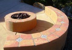12x12 Unsealed Super Saltillo Round Edges Handcrafted Mexican Terra Cotta Floor Tile