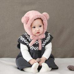 Bonnet Polaire Mes Petites Oreilles Crochet Hats, Fashion, Polar Fleece, Bebe, Ears, Accessories, Knitting Hats, Moda, Fashion Styles