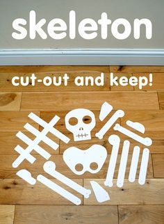 Skeletons (13 Days of Halloween Ideas) | The Home Teacher