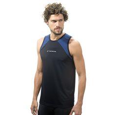 6786 - Regata Dry Sportif. Disponível nas cores: Preto e Cinza Claro. Gostou?…