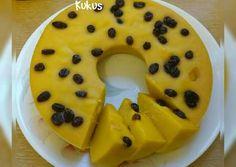 Cake labu kuning kukus