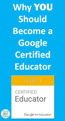 Why YOU Should Become Google Certified. There are several great reasons to become a Google Certified Educator. Check out my reasons.| Create Dream Explore Free Teaching Resources, Teaching Ideas, Classroom Resources, Teaching Science, Education Logo, Mobile Learning, Special Education Classroom, Business Technology, Creative Teaching